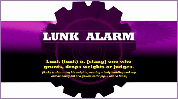 Lunk Alarm ts=