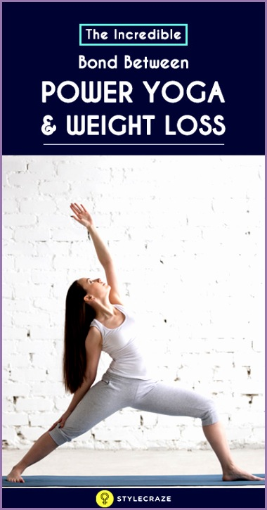 how does power yoga help in weight loss