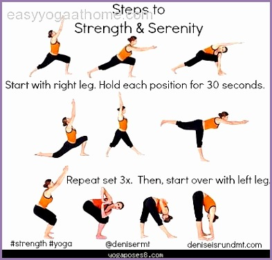 easy at home yoga