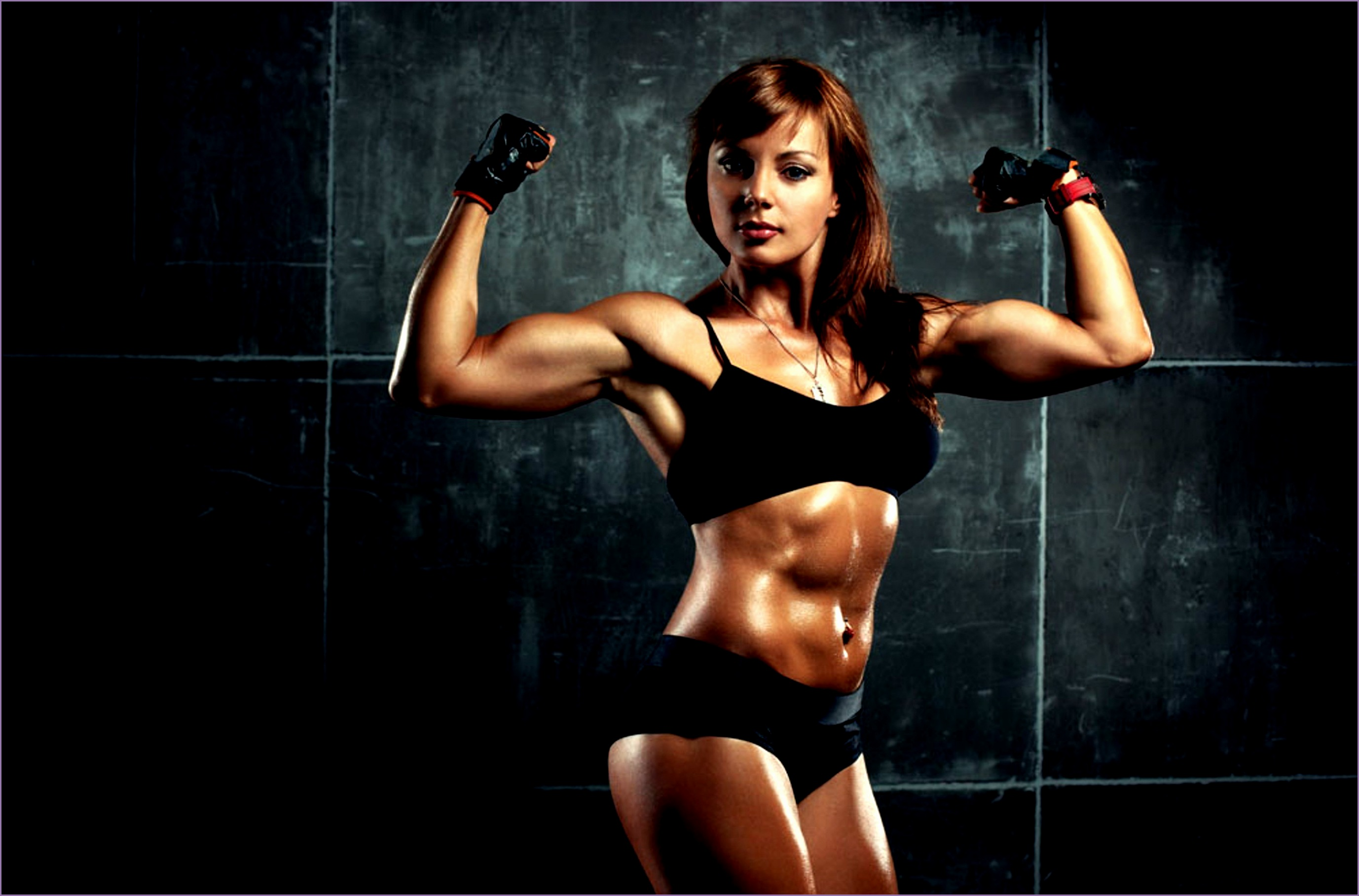 Think, that girl fitness models abs commit