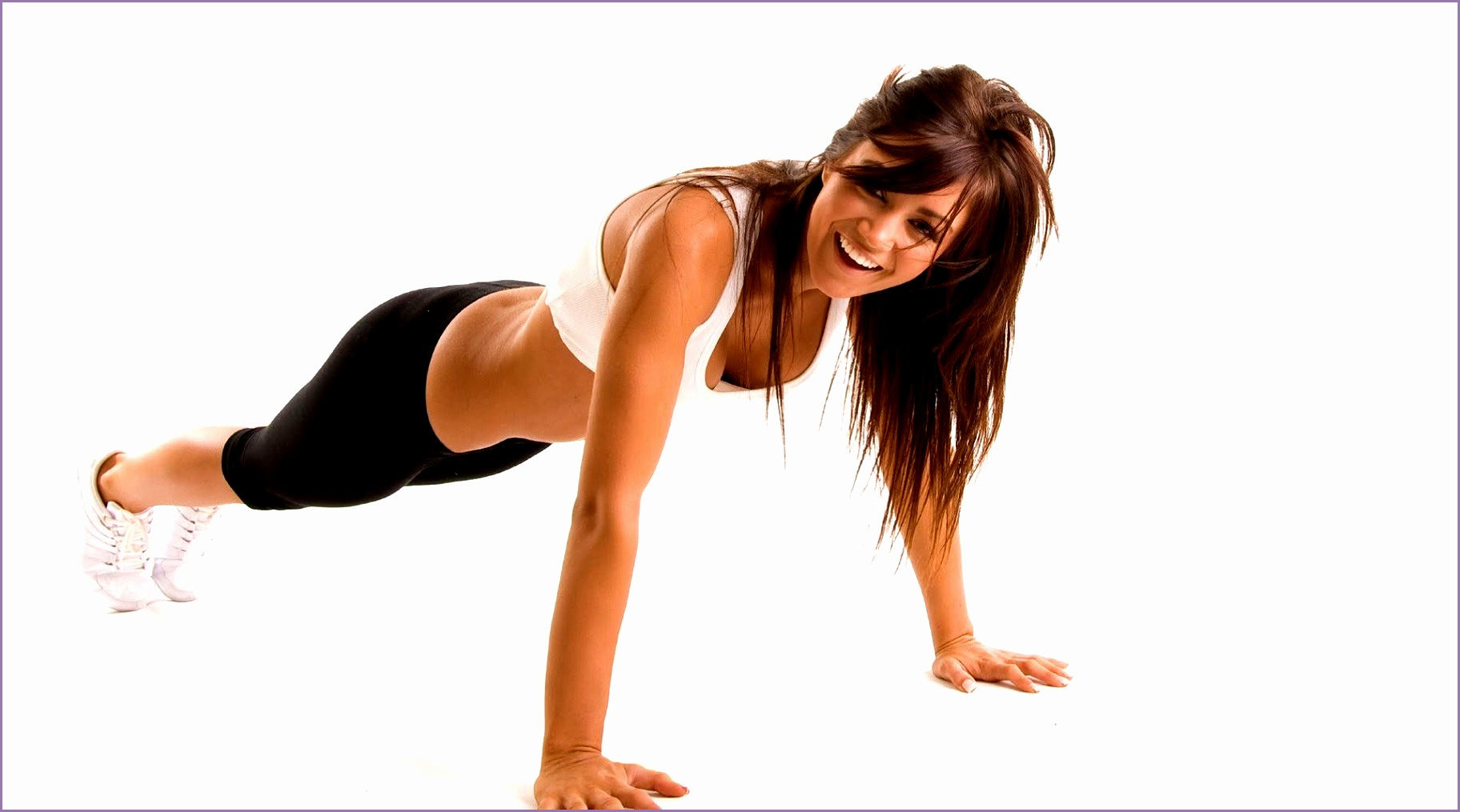 woman workout fitness hd wallpaper