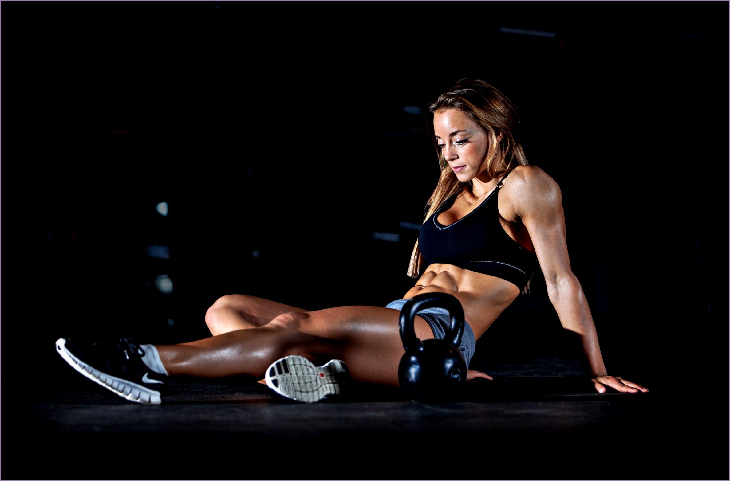 women fitness model sports