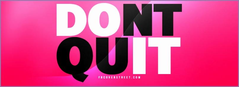 Dont Quit Cover Dont Quit