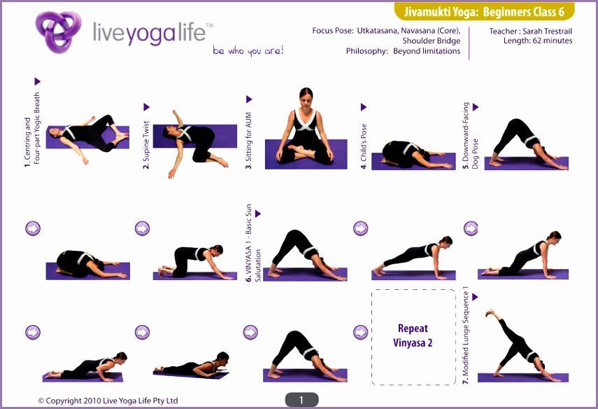 Jivamukti Yoga Beginners Class 6 1