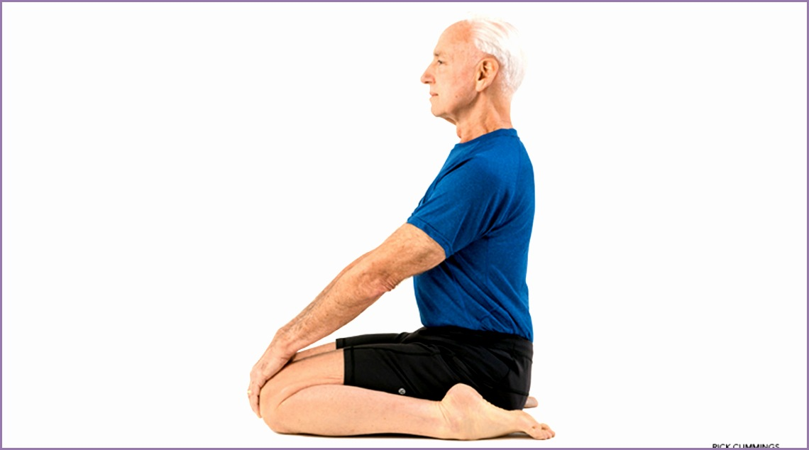 hero pose virasana