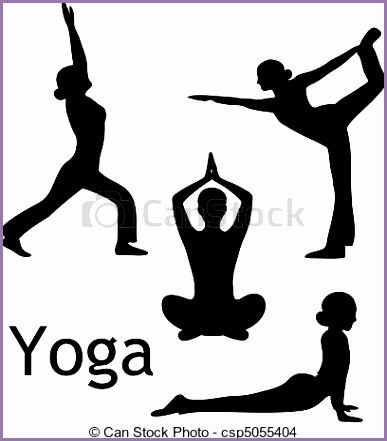 Yoga Poses Drawings D40qe Inspirational Eps Vector Of Yoga Poses Silhouette Vector isolated On White