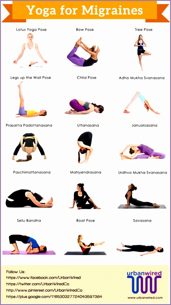 Yoga for migraines is very effective as it focus on the prevention of the basic causes