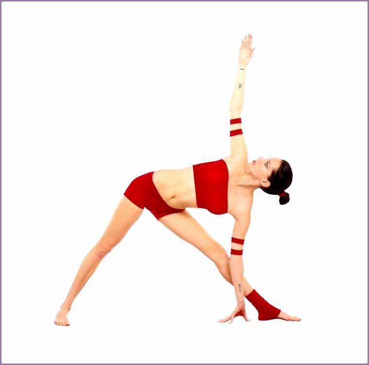Trikonasana Yoga Asana Nina Mel
