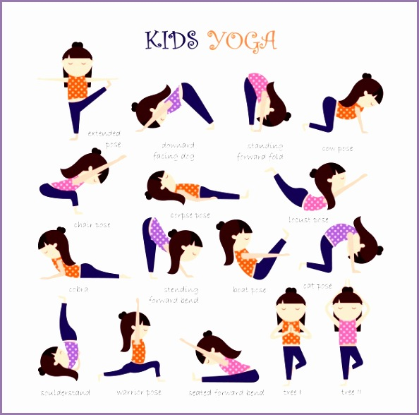 Yoga Position K8zqah New Yoga Poses Vectors S and Psd Files