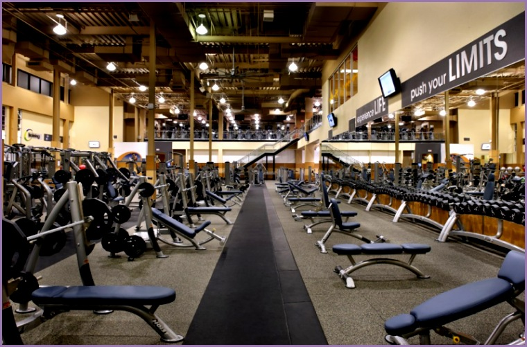 A weight room at one of the 24 Hour Fitness locations A weight room at one of the 24 Hour Fitness locations