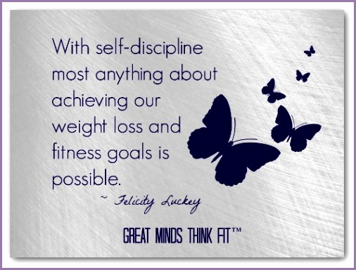 achieving my weight loss and fitness goals is possible Self Discipline Quote