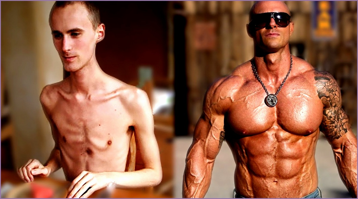 From Skinny To Strong Muscular Best Fitness Body Transformations in al