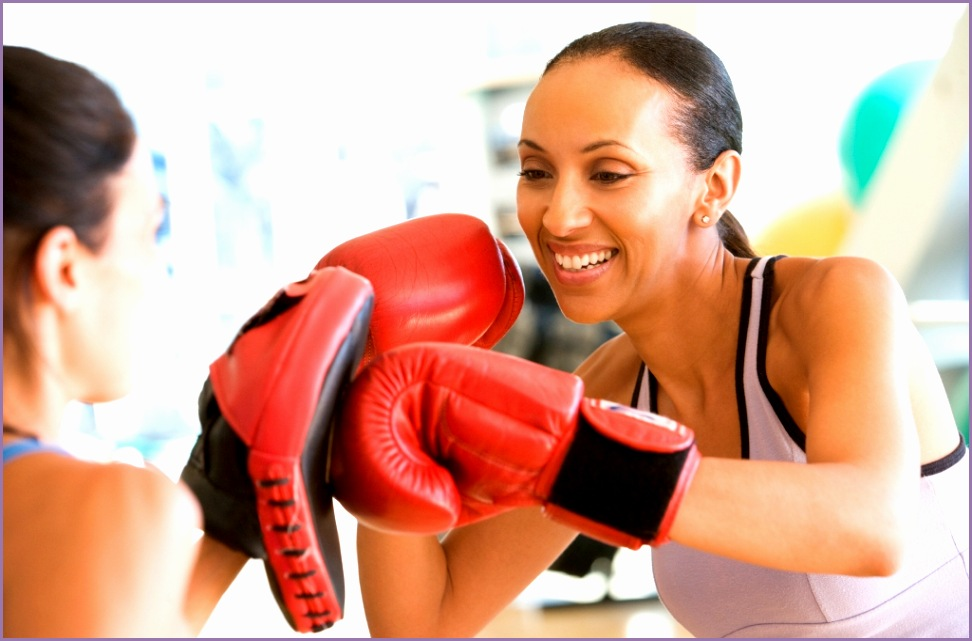Women Boxing Fitness