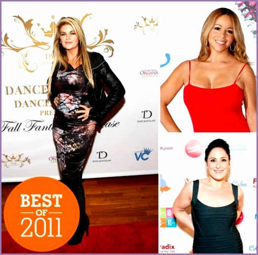 Best of 2011 Celebrity Weight Loss Transformations