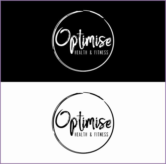 Personal trainer needing a modern cool and simple logo Blues Purples Reds