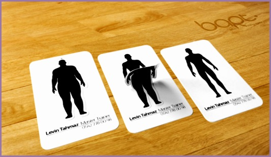 Fitness Business Cards Inspiration Cardfaves Fitness Business Cards