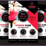 4  Creative Fitness Flyer