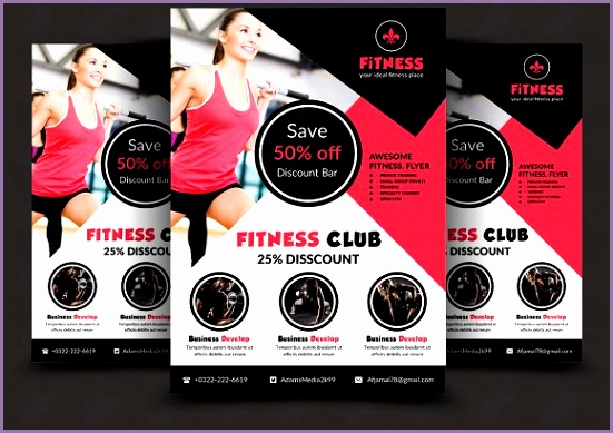 Fitness Flyer Flyers