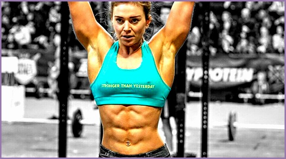 the only place you could see a six pack on a woman was at a bodybuilding petition Today it s monplace and this is mostly due to CrossFit