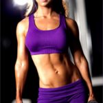 4 Female Fitness Model Workout