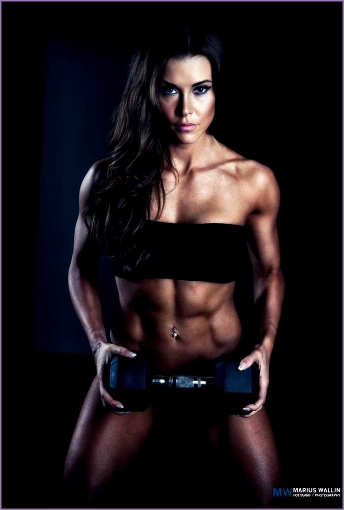 e of 5 pictures in my female fitness series This is one of the top