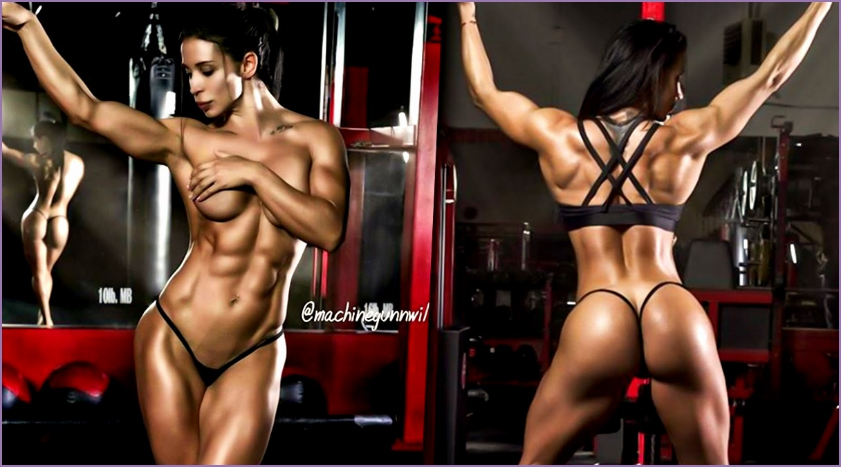 Ana Cozar Fitness Model Best Leg Workouts for Women & Squat Workout