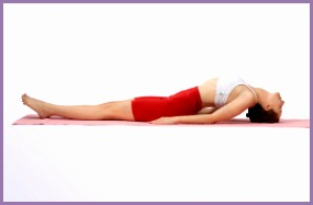 Yoga Young Woman Performing Fish Pose 300x199