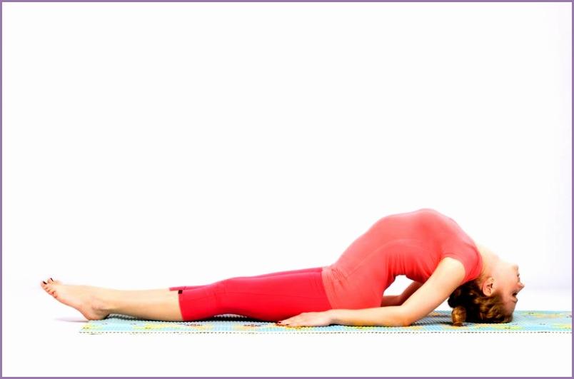 vegan fish pose yoga fitness