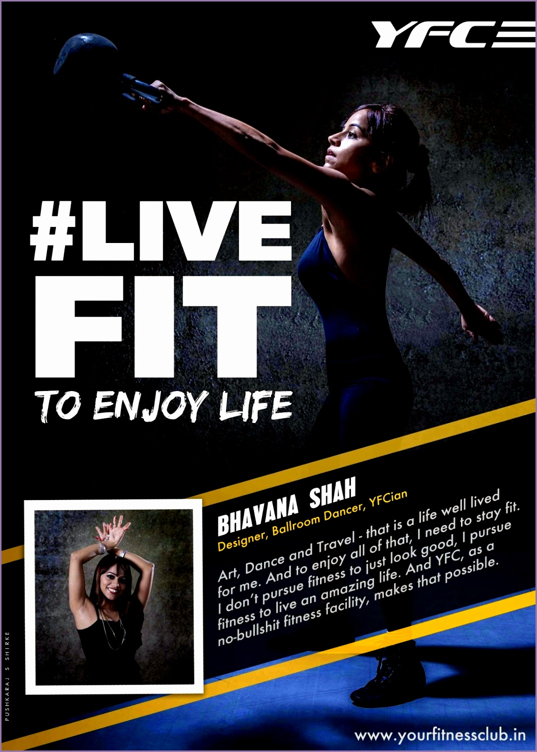 Your Fitness Club LIVEFIT Gym Advertising Campaign