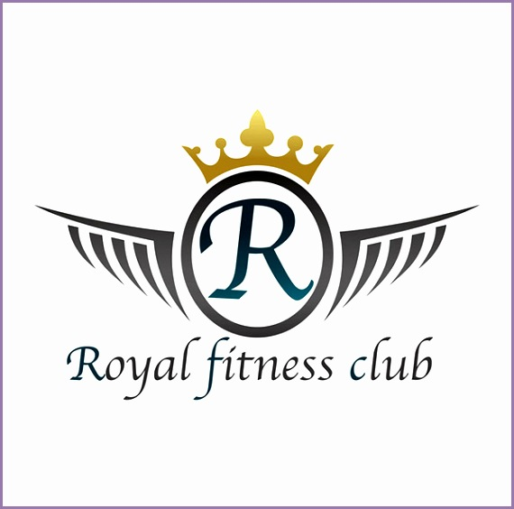 royal fitness club logo
