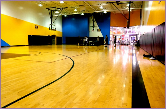 Pasadena Fitness Connection Basketball court