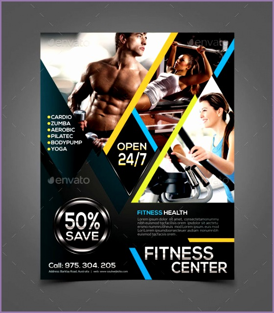 Zumba fitness flyer has a clean modern and professional design for advertising of any gym and other fitness center It is very cool fitness flyer design