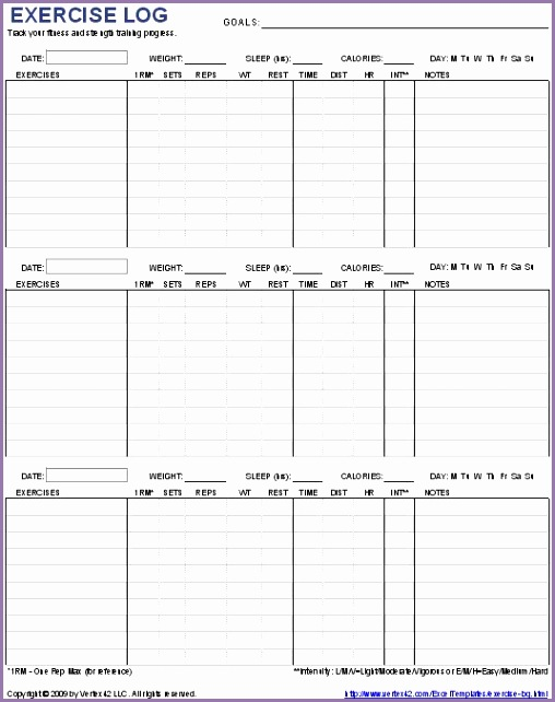 For fitness buffs who like to keep organized and track their progress and haven