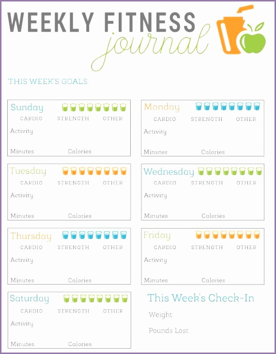 graphic about Printable Fitness Journals identified as totally free conditioning publications -