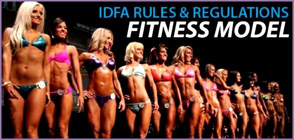 IDFA Rules & Regulations Fitness Model