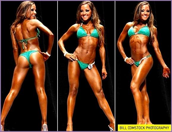 nice Rising Star Fitness Model & Bikini petitor Courtney Prather Talks With Simpl