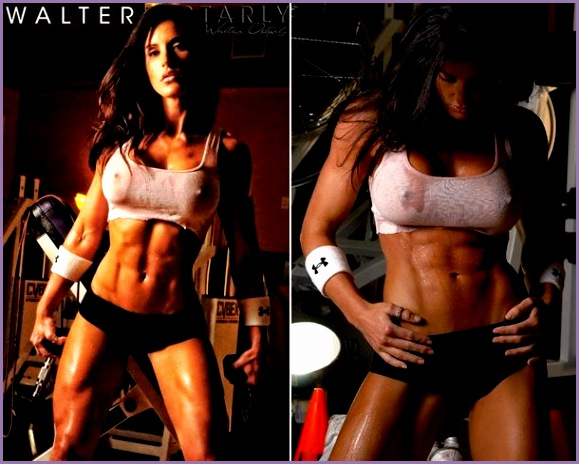 images of female fitness models