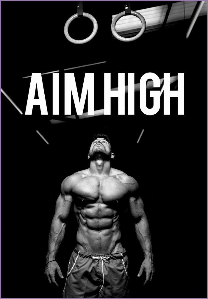 This is mens fitness Aim high so that you gain more