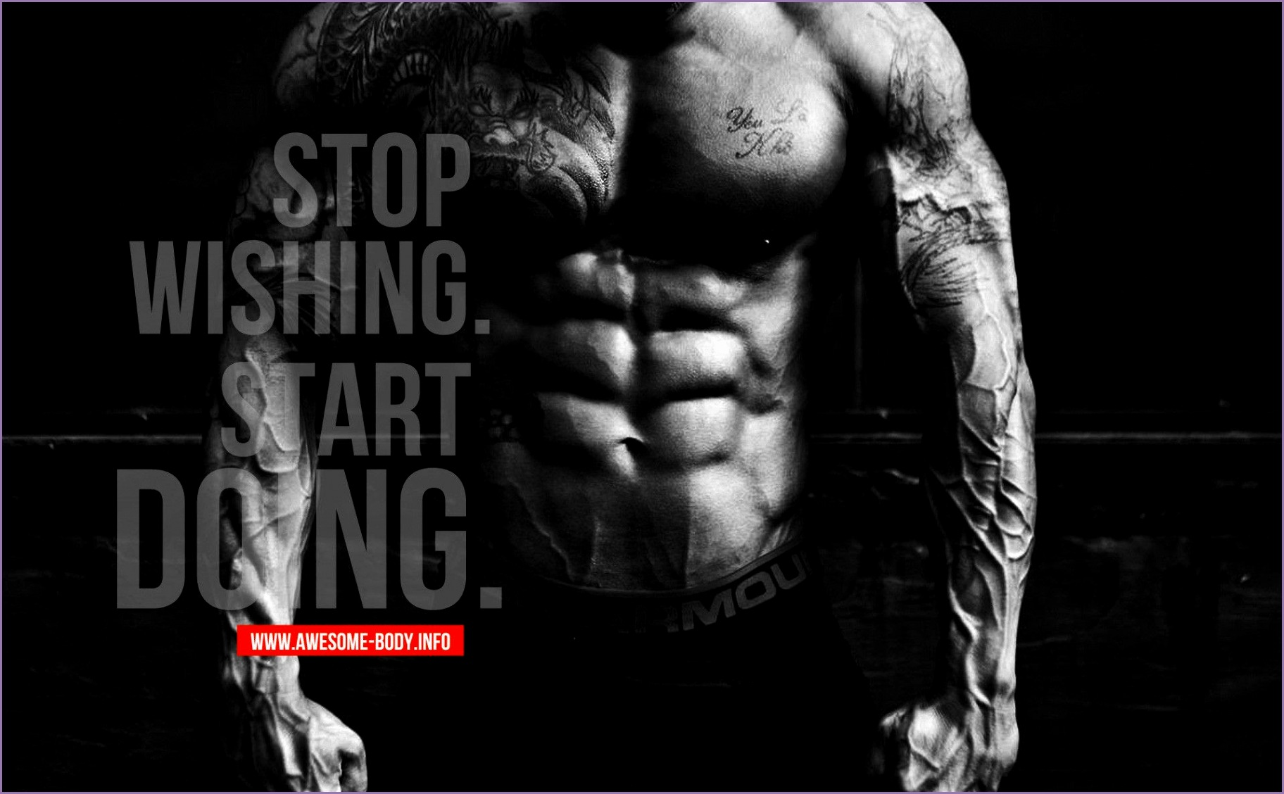 7 Fitness Motivation Men Wallpaper - Work Out Picture
