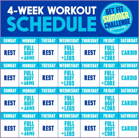 The Get Fit Summer Challenge is a 4 week strength and cardio workout plan created by NYC based trainer Jessi Kneeland NASM of ReModel Fitness