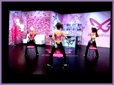 Chair dance Part 3 all flirty girl fitness mel likes Pinterest