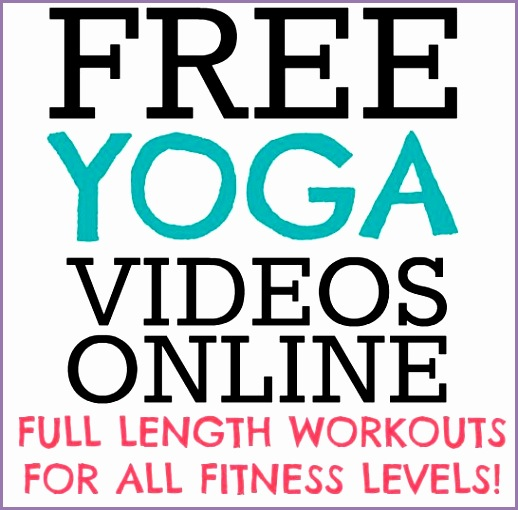 Full Length Yoga Videos line for FREE this is awesome ive really wanted to