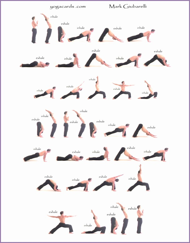 Sequence1 Pinner said I did this Yoga sequence for an hour everyday for a year