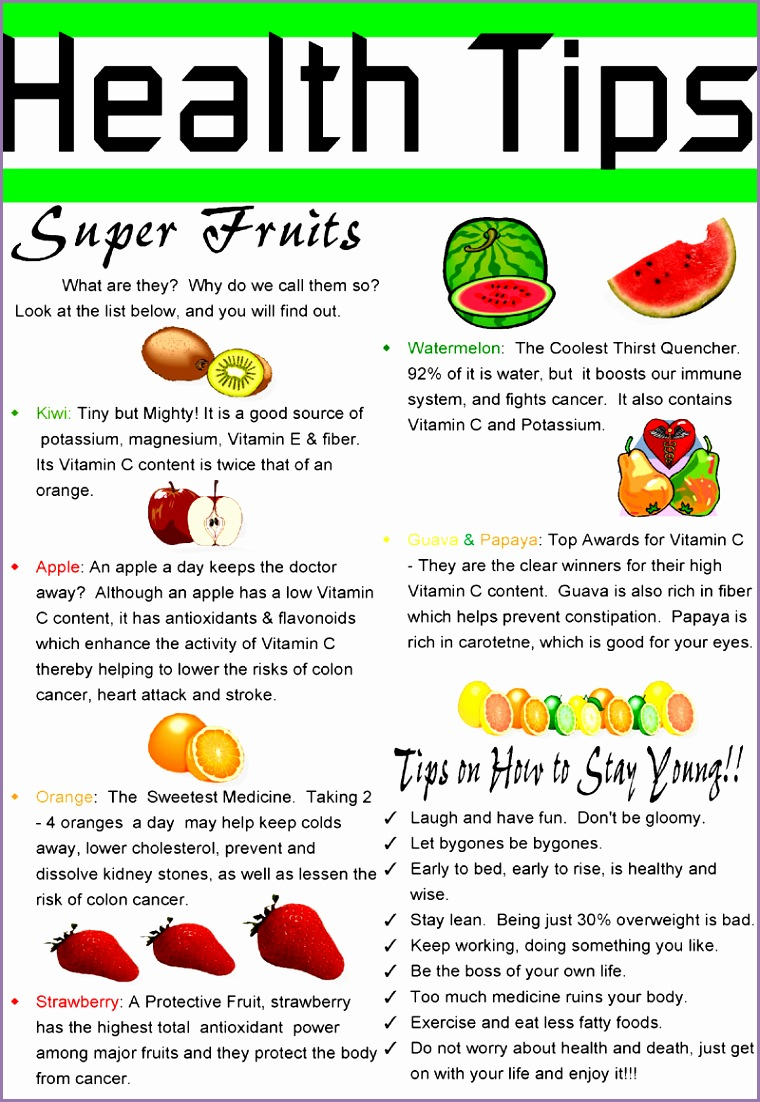 Health Tips super fruits I need to eat more of these
