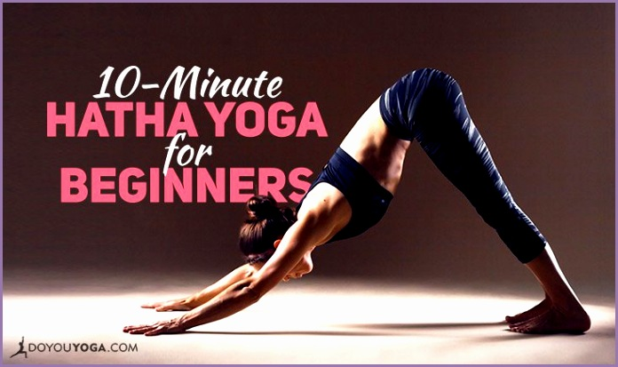 10 Minute Hatha Yoga Sequence for Beginners