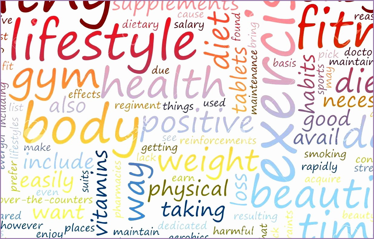 Health and Fitness List as Health And Fitness Background