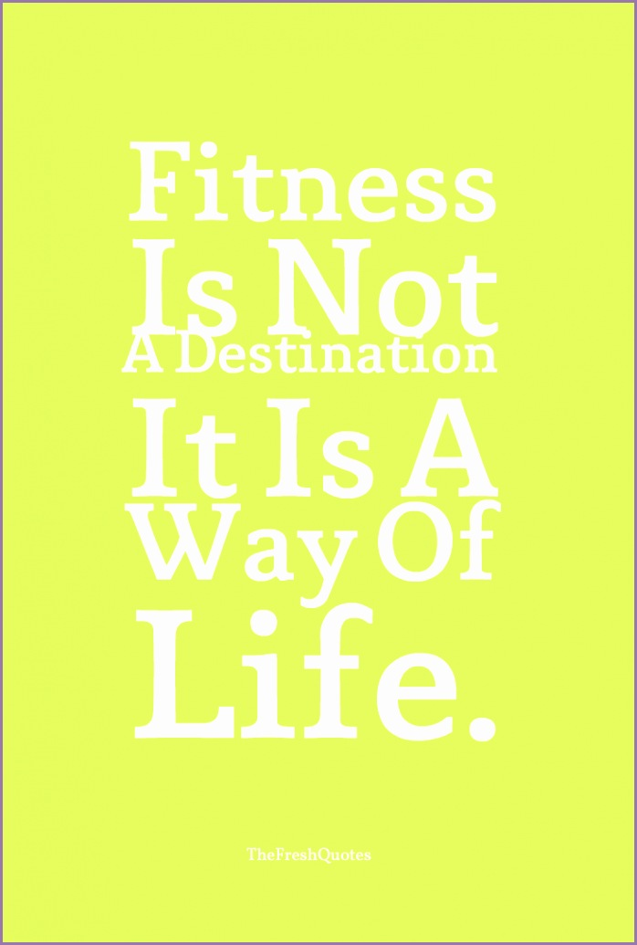 Fitness Quotes and Slogans ""