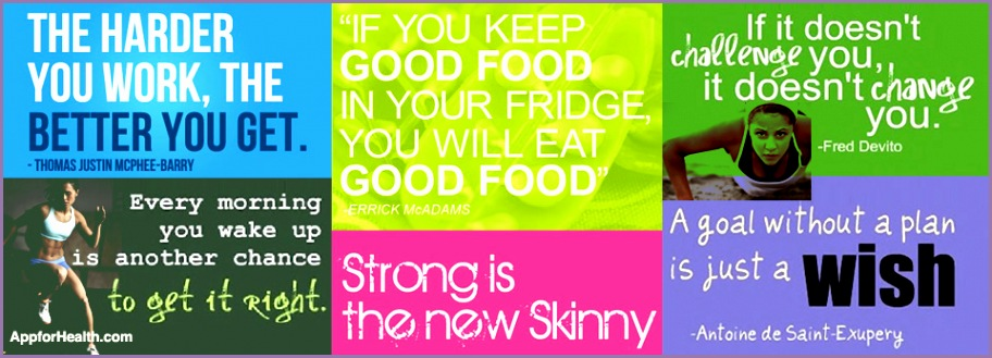 Health and fitness slogans