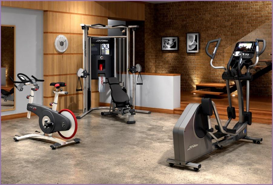 Life Fitness Home Gym Basemen