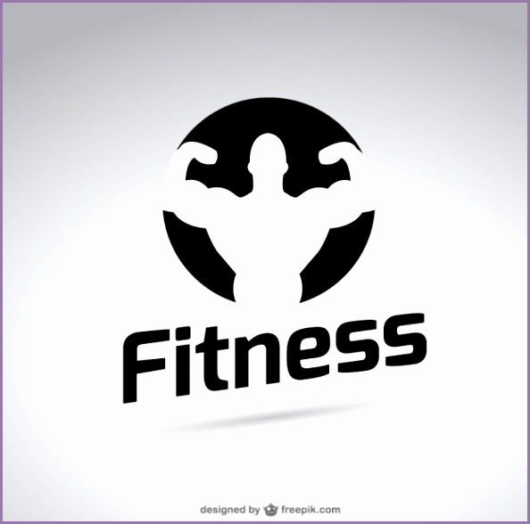 black and white fitness logo 23